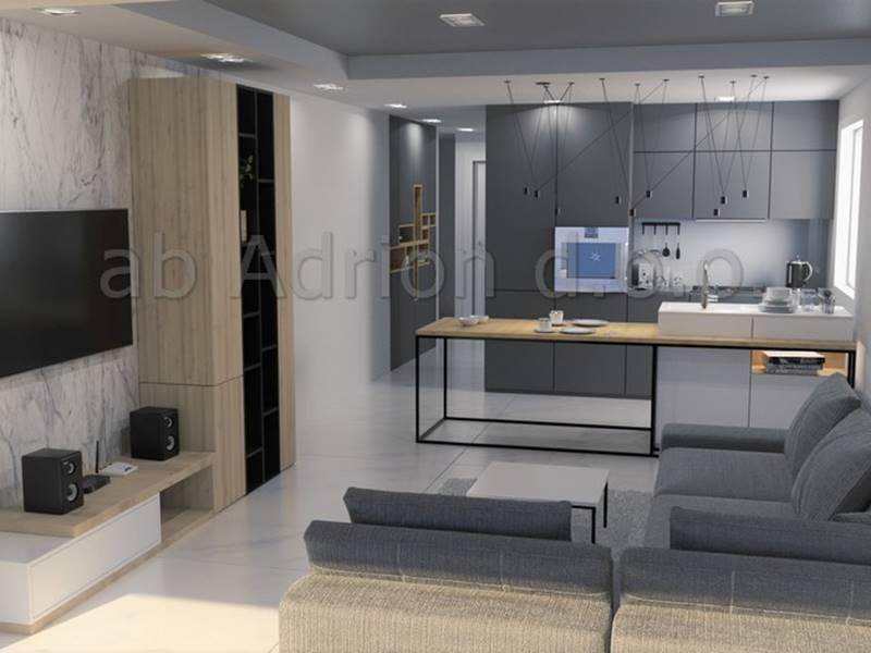interior of a two bedroom apartmen